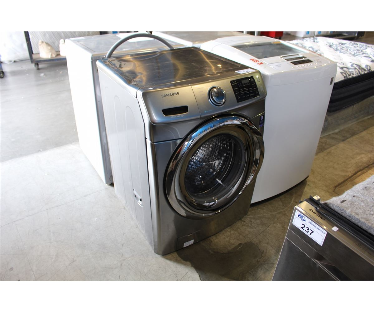 Samsung Steam Vrt Front Load Washer Grey Able Auctions