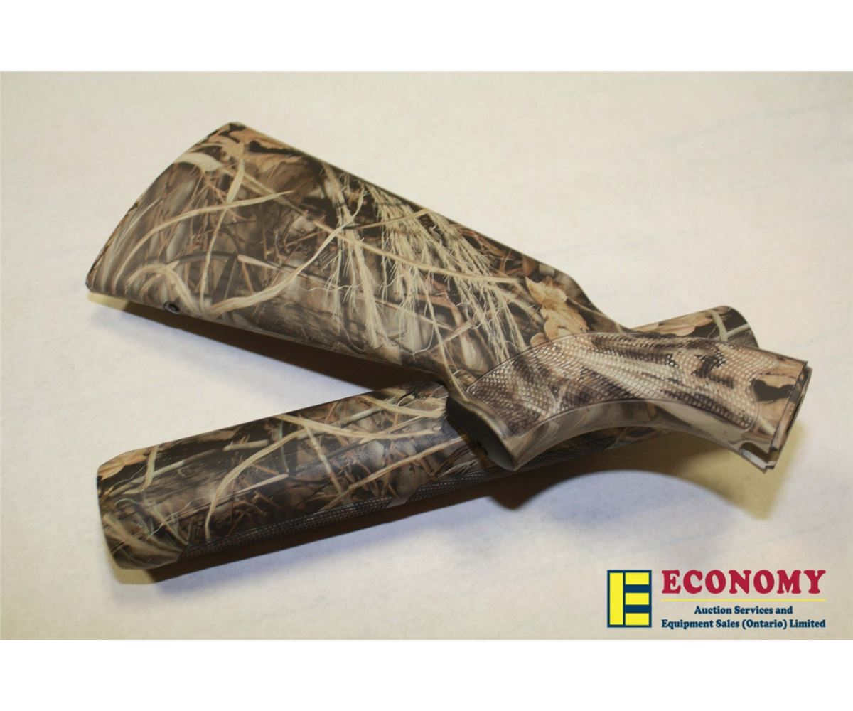 Camoflauge Stock & Forend for Remington 12GA 1100 Model or 1187 Shot Gun