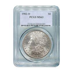1902-O $1 Morgan Silver Dollar - PCGS MS63