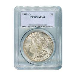1889-O $1 Morgan Silver Dollar - PCGS MS64