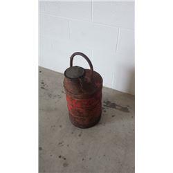 5 Gallon Oil Can