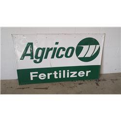 Agrico Fertilizer SST Sign 34x57