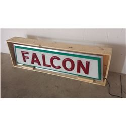 Ford Falcon Light Up Dealership Sign 75x20