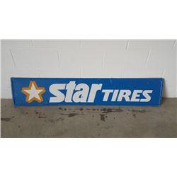Star Tires SST Sign 12x60
