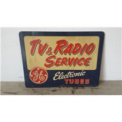 GE Electric DST Sign