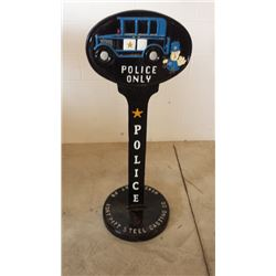 Police Stand Cast Iron 48x18