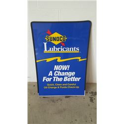 Sunoco DST Sign 24x36