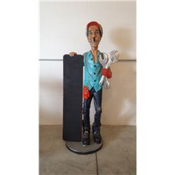 Gas Station Mechanic 6ft Tall