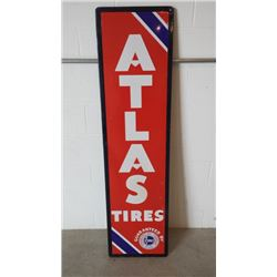 Atlas Tires SSP Sign 16x60