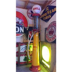 Shell 10 Gallon Visible Gas Station Pump (Wayne)
