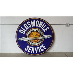 Oldsmobile Service Sign DSP Walker and Co. 60in R