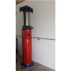 Mobilgas 10 Gallon Visible Gas Pump