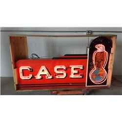 Case Neon SSP Sign 74x42