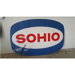 Sohio Oval DSP Sign 72x48