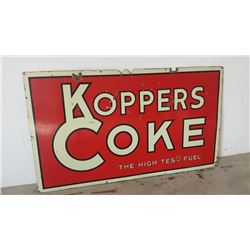 Koppers Coke The High Test Fuel SSP Sign 42x72