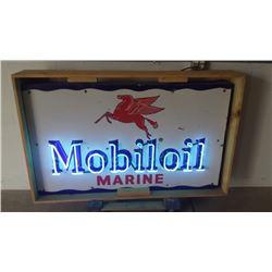 Mobiloil -Pegasus- Marine SSP Neon Sign 60x36