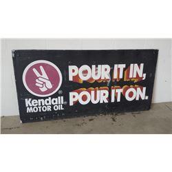 Kendall Motor Oil SST Sign 72x36