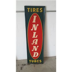 Inland Tires-Tubes SST Sign 16x53