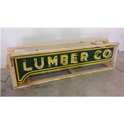 Lumber Co. DSP Neon Sign 8ft x 2ft