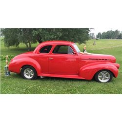 1940 Chevrolet Master 85 Business Coupe Street Rod