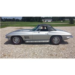 1967 Chevrolet Corvette Stingray Roadster 427 L88