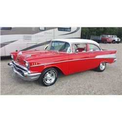 1957 Chevrolet 2 Dr Post Bel Air 283/Automatic