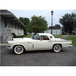 1957 Ford Thunderbird Manual Trans Hardtop