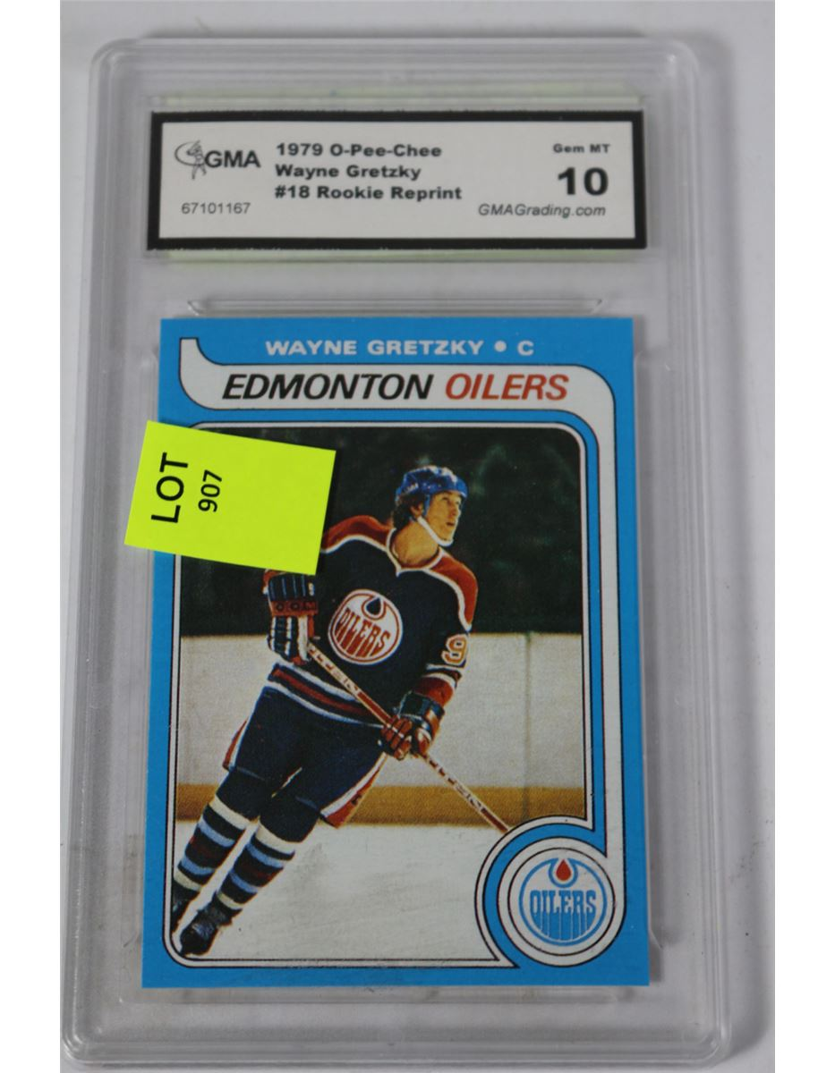 1979 Wayne Gretzky Rookie Card Reprint