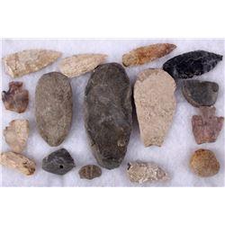 Montana Northern Plains Artifacts