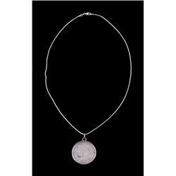 Morgan Silver Dollar 1921-D Necklace