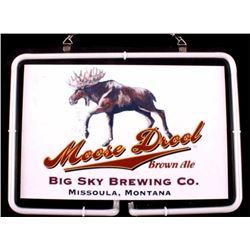 Moose Drool Brewing Neon Light Missoula, MT