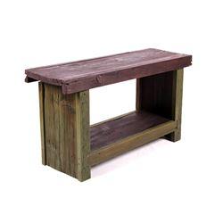Rustic Reclaimed Lumber Bench