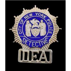 New York Police Detective DEA Badge