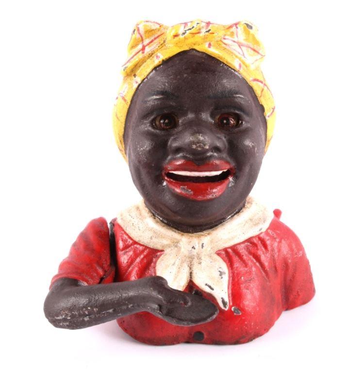 Black Mammy Aunt Jemima John Harper Cast Bank