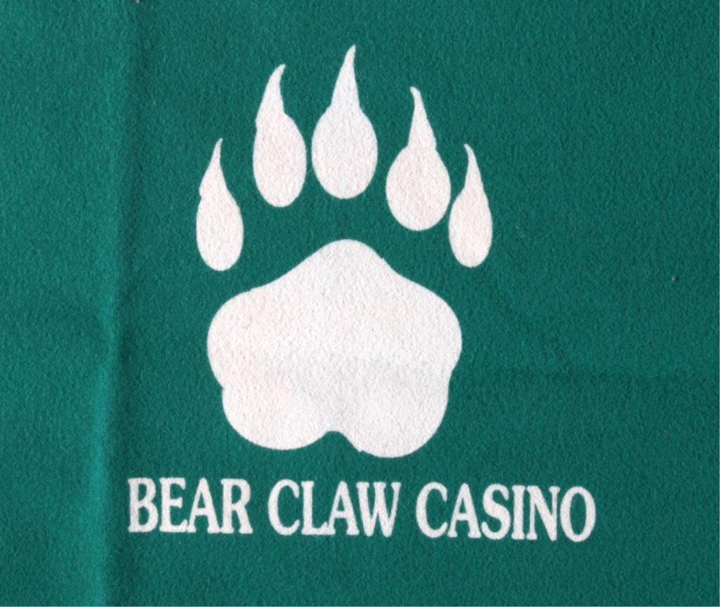 iCollector.com & Bear Claw Casino Blackjack Table Cover