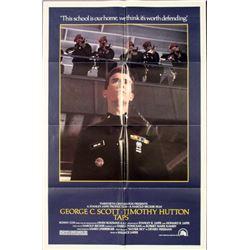 George Scott Taps 1981 Movie Poster