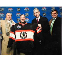 Chicago Blackhawks Mgt & Mayor Daley Rocky Wirtz Photo