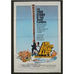 Live a Little Steal Alot Orig 1S Movie Poster 1974