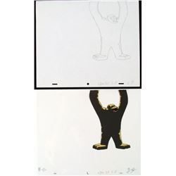 Cel Herculoids Animation Big Trouble Original Drawing