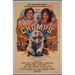 C.H.O.M.P.S Original 1 Sheet Movie Poster 1979