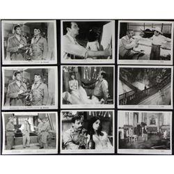 9 Classic Movie Lobby Photo Cards 8 x 10 1947-1966