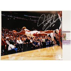 "Signed Dennis Rodman Chicago Bulls 16"" x 20"" Photo COA"
