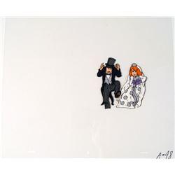 Cel Listen Up Here Bride and Groom Original Cel