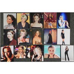 "15 Famous Actress Stills Celebrity 8"" x 10"" Photo"