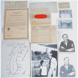 WWII US Navy Documents & Photographs Sailor Cards