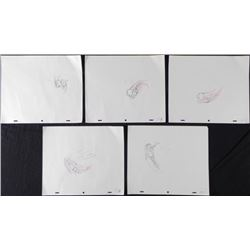 5 Original Drawings Sequence Production Cheerios Soar