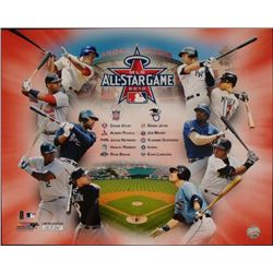 Limited Edition Collage 2010 All-Star Game Anaheim CA