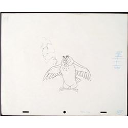 Winnie the Pooh Animation Original Drawing What's Up