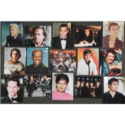 "15 Famous Actor Stills 8"" x 10"" Photo Celebrity"