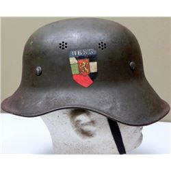 Original WWII German Helmet Gladiator w/Liner Chinstrap